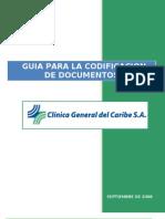 Codificacion de Los Documentos 1