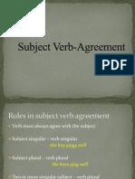 Subject Verb-Agreement Prsttn (MT)