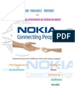 Marketing Strategies of Nokia in India