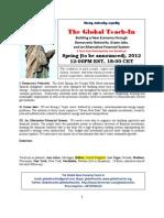 Global Economic Democracy Teach in Flyer