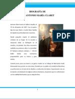 BIOGRAFÍA DE JOSÉ ANTONIO MARÍA CLARET