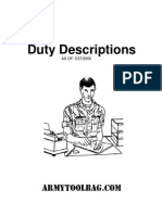Duty Descriptions