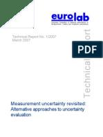 Technical Report Measurement Uncertainty 2007