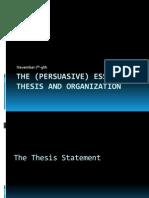 Persuasive Essay Writing- Nov.4-Nov.9