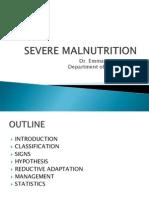 10. Severe Malnutrition