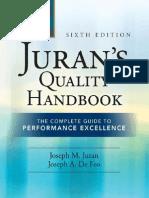 Juran's Quality Handbook- The Complete Guide to Performance Excellence by Joseph M. Juran- Joseph Defeo- Joseph a. de Feo