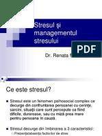 Stresul Si Managementul Stresului