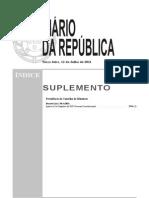 Lei Orgânica do XIX Governo Constitucional