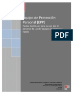 Pautas Para Uso de EPP