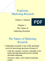 14520886 the Nature of Marketing Research