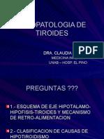 Clase Fp Tiroides