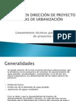 Lineamientos técnicos para la elaboración de proyectos de