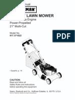 Lawnmower Manual - Different Mower
