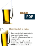 BEER MARKET IN INDIA