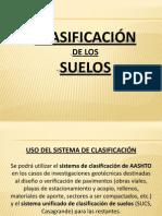 mecánica de suelos-clasificación de suelos