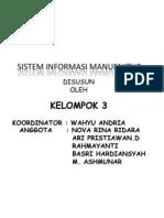 Context Diagram Untuk Sistem Informasi Manufaktur