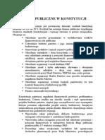 Finanse Publiczne w Konstytucji