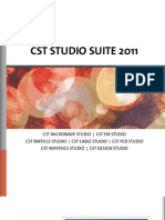 Cst Studio Suite 2011 Brochure Low-Jyoti Electronics