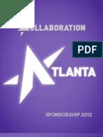 Kollaboration Atlanta Sponsorship 2012