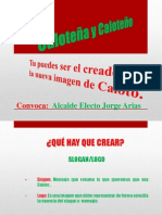 Convocatoria Crea Imagen Caloto