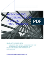 A PAPER WRITTEN TO ASSIST THOSE WHO MAY BE CONCERNED IN THE FINISHING OF CONCRETE SWIMMING POOL'S
