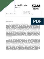 Teoría y Análisis Literario Completa 1er Cuatrimestre 2007