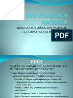 ESCENARIO EDUCACION