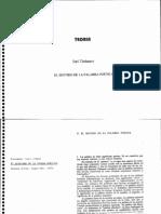 Tinianov - El Sentido de La Palabra Poética