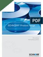 Schnorr Produktprospekt Engl