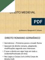Historia Do Direito Dir Medieval Slides