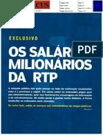 Os ordenados milionários da RTP - in:Focus