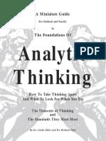 Sam Analytic Thinking