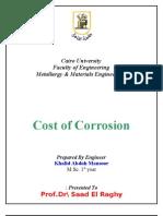 Corrosion Cost
