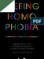 """""""Fleeing Homophobia"""" sur la demande d'asile fondée sur l'orientation sexuelle ou l'identité de genre"""
