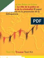 EL PAPEL DE LA POLICIA EN LA PREVENCION DE LA DELINCUENCIA