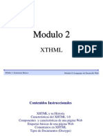 Modulo 2 XHTML