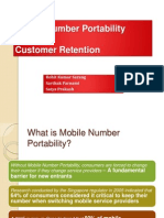Mobile Number Portability_Roll No_38!39!40