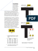 T Y Intersections
