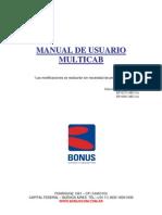 Manual de Uso Multicab Ed.1.1