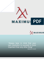 Maximus Presentation Printable Version