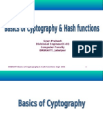 Cryptography Hash Functions GP