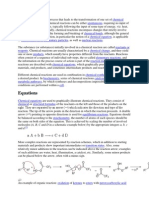 Chemical Reactions III