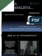 Teoría Psicoanalista