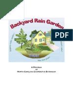 North Carolina Backyard Rain Garden