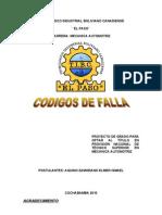 Codigos de Falla.aquino Zamorano