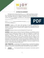 Distributor Agreement 4-08