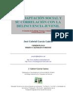 Inadaptacion social y su correlación con la delincuencia juvenil