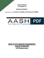 2008 Bridge Engineer's Survey