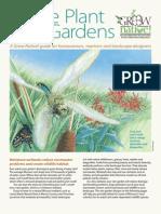 Wisconsin Native Plant Rain Gardens