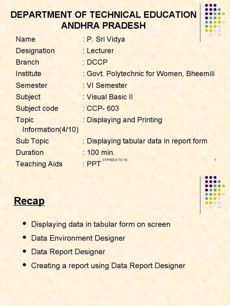 Vb6 Print Form